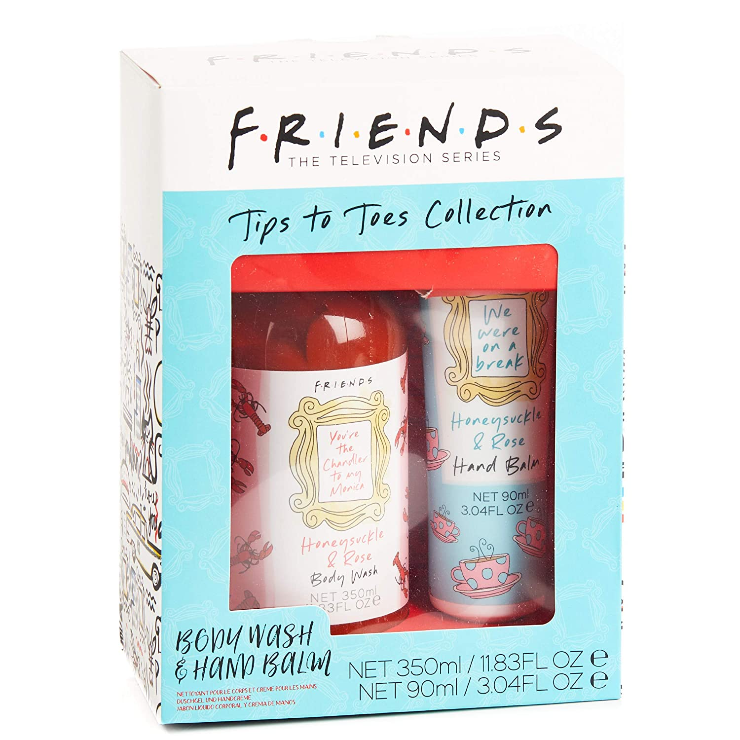 Paladone Friends TV Show Tips to Body Toes Collection     Wash ...