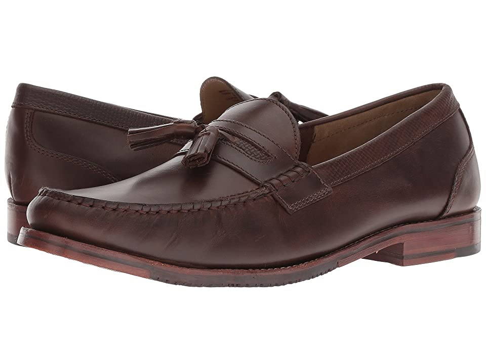 Tommy Bahama Tasslington (Dark Brown Leather) Men