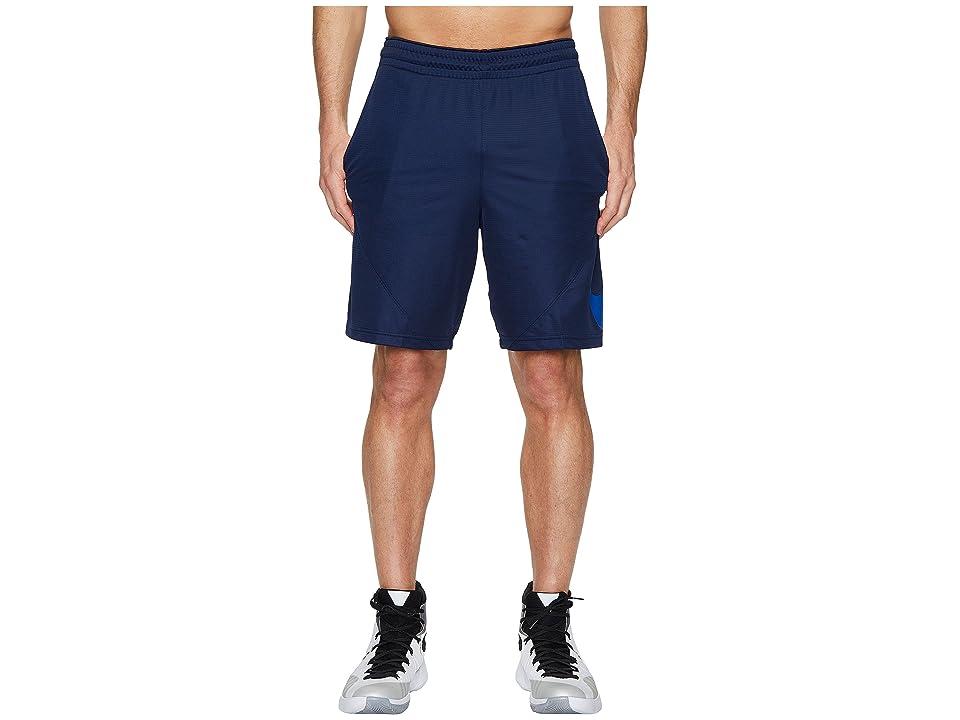 Nike Dry 9 Basketball Short (Midnight Navy/Midnight Navy/Hyper Cobalt) Men