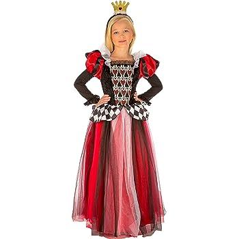 My Other Me Me-204110 Disfraz Reina de corazones para niña, 5-6 ...