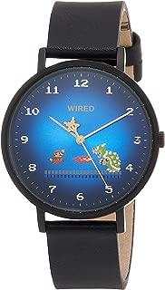 Seiko Men's Super Mario Brothers Black Limited Edition Quartz Watch #AGAK706