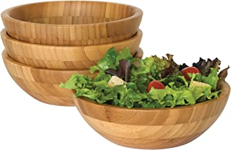 Best bamboo bowl set Reviews