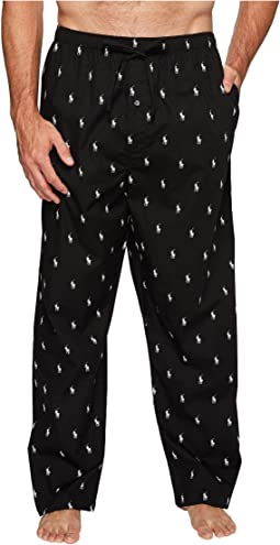 Polo Ralph Lauren - Tall All Over Pony Player Woven Pants