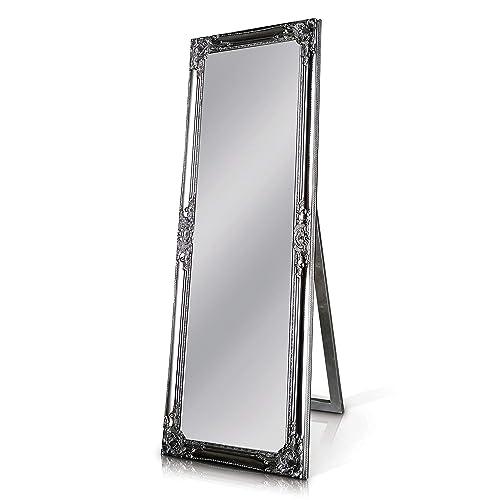 e6f8e9c71d7 Rococo by Casa Chic Solid Wood - Shabby Chic Full Length Mirror - Silver -  130x45