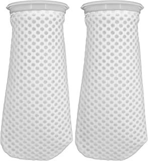 4 inch Honeycomb Filter Socks,4 inch Filter Sock for Saltwater Aquarium,4 inch Ring by 10 inch Long (2 Pack)