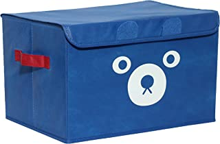Katabird Storage Bin for Toy Storage, Collapsible Chest Box Toys Organizer with Lid for Kids Playroom, Baby Clothing, Chil...