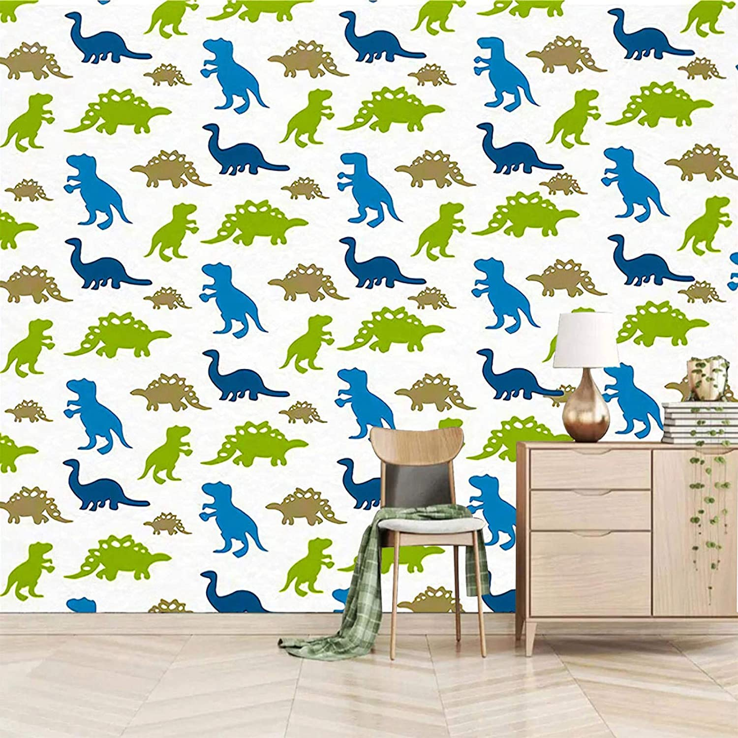 XiaoCha Simple Colorful Animal Dinosaur Wall Self-Adhesive sold out 3D 35% OFF St