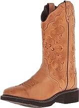 Justin Boots Damen Cowboy Stiefel L2907 Westernreitstiefel Lederstiefel Braun