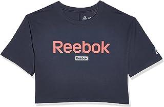 ريبوك تي شيرت رياضي للنساء ، مقاس XS ، لون كحلي