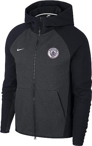 Nike FC Tech Fleece noir Metallic argent 18 19 Manchester City