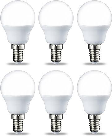 AmazonBasics E14 LED Bulb, P45, Teardrop shape