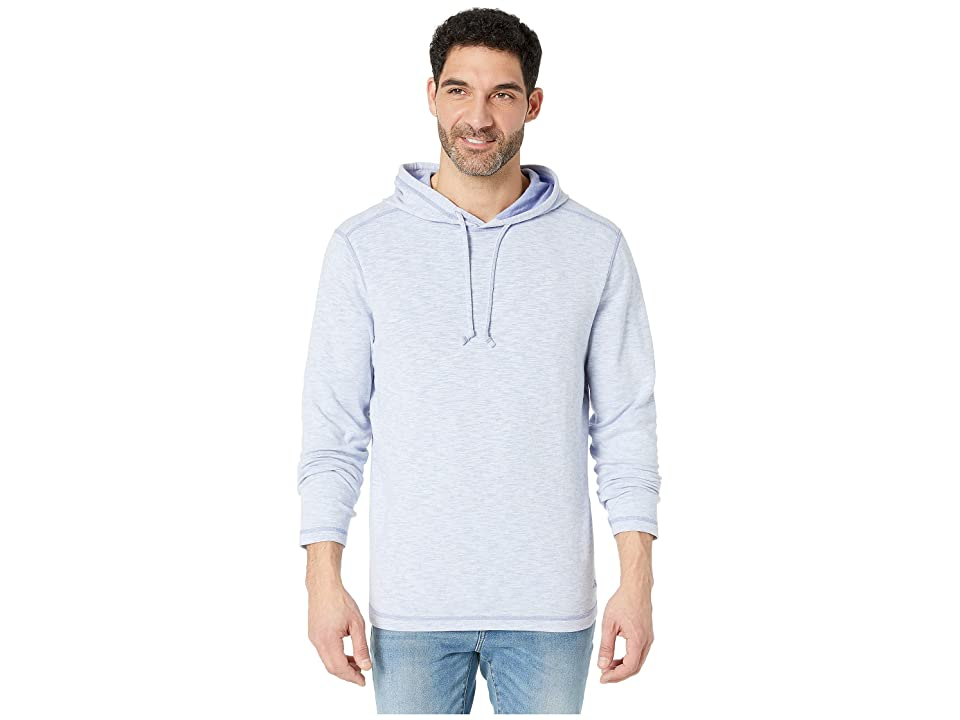 Tommy Bahama - Tommy Bahama Sea Glass Flip Reversible Hoodie , Blue