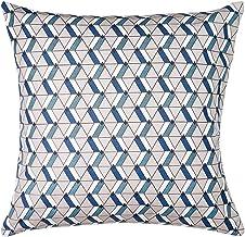 Almofada Madri Dante Estampada Santista - Quadrado - Azul