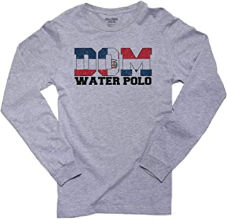 Olympic Water Polo - Dominican Republic Men's Long Sleeve T-Shirt
