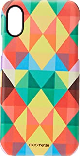 Macmerise IPCIXSPMI0010 Abstract Geometry - Pro Case for iPhone XS - Multicolor (Pack of1)