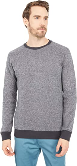 Brushed Knit Crew