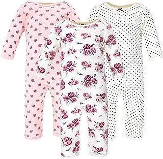 Hudson Baby Kombinezon dziecięcy Uniseks - niemowlęta Hudson Baby Unisex Baby Cotton Coveralls, Rose