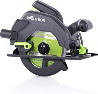 Evolution Power Tools F165CCSL Circular Saw With Multi-Material Cutting, 1200W, 165 mm, (230V)