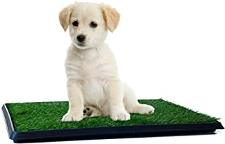 Artificial Grass Bathroom Mat for Puppies and Small Pets-...