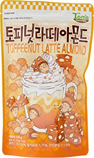 Tom's Farm Toffeenut Latte Almond, 190g