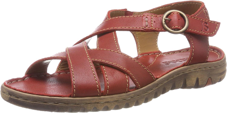 Josef Seibel Women Sandals red, (red) 63801343 400