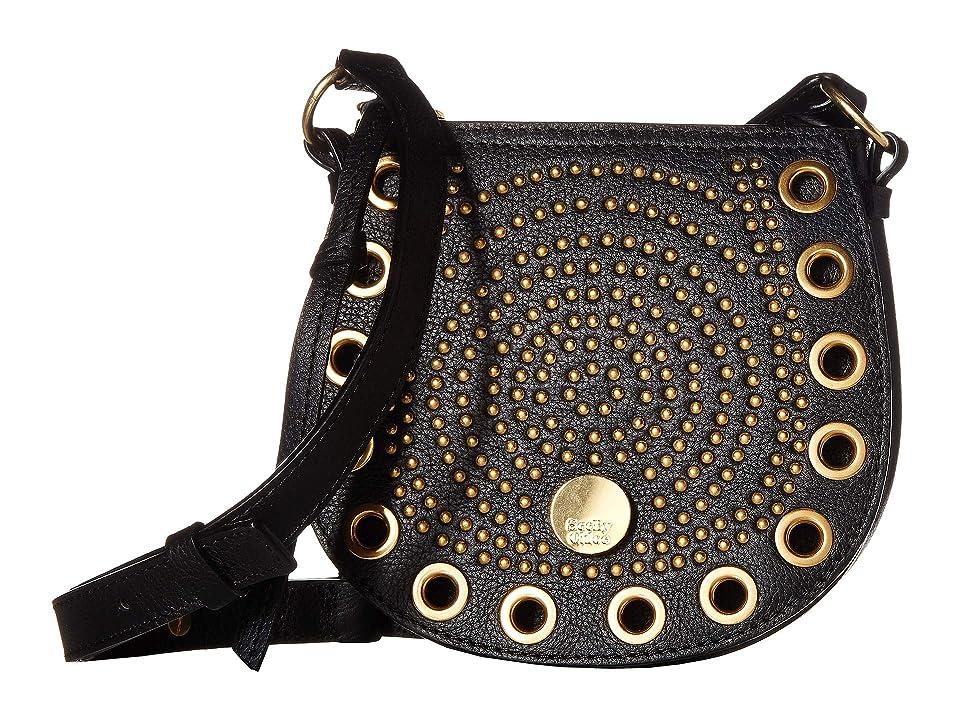 See by Chloe Kriss Mini Saddle Bag (Black) Cross Body Handbags