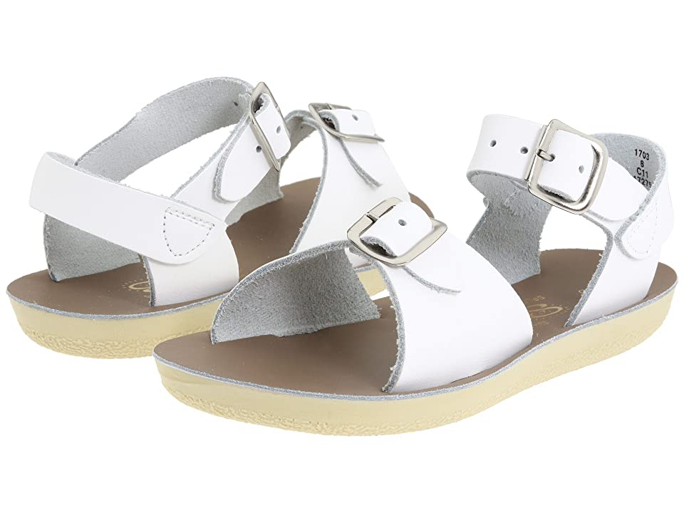 Salt Water Sandal by Hoy Shoes Sun-San Surfer (Toddler/Little Kid) (White) Kid