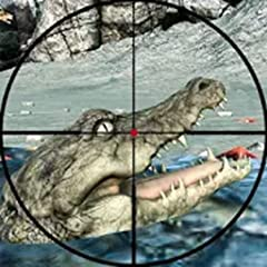Real forest animal attack hunter adventure. Addictive game levels with increasing difficulty. Save animals from being prey to crocodiles. Extreme crocodile hunter simulator 3d Animals target sniper hunting simulation Best jungle sniper hunting of 201...