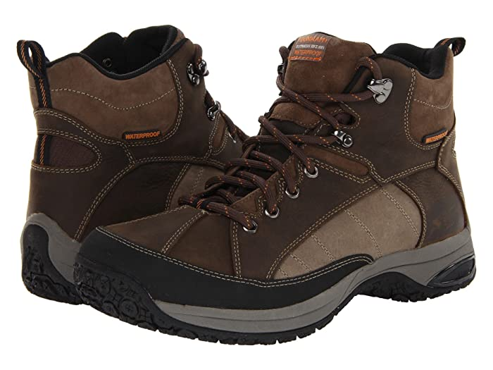 Dunham  Lawrence Mudguard Sport Hiker Waterproof (Brown) Mens Hiking Boots