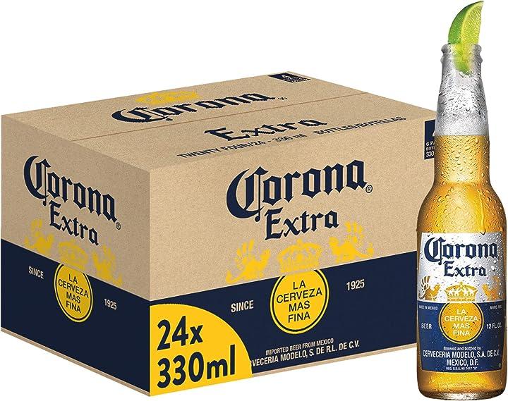 Birra corona bottiglia - confezione da 24 x 330 ml 61472