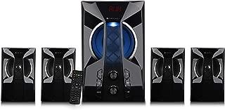 Zebronics Zeb-Zen 4.1 Channel Multimedia Speaker with Bluetooth & Remote