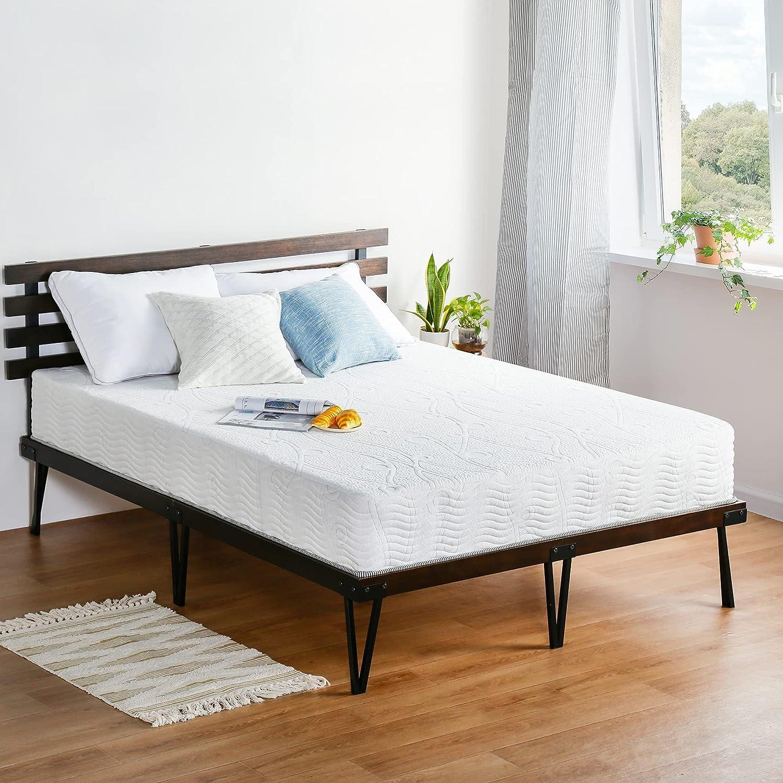 Olee Sleep 10 inch Omega Max 49% OFF Hybrid Fees free Gel Infused Pock Memory and Foam