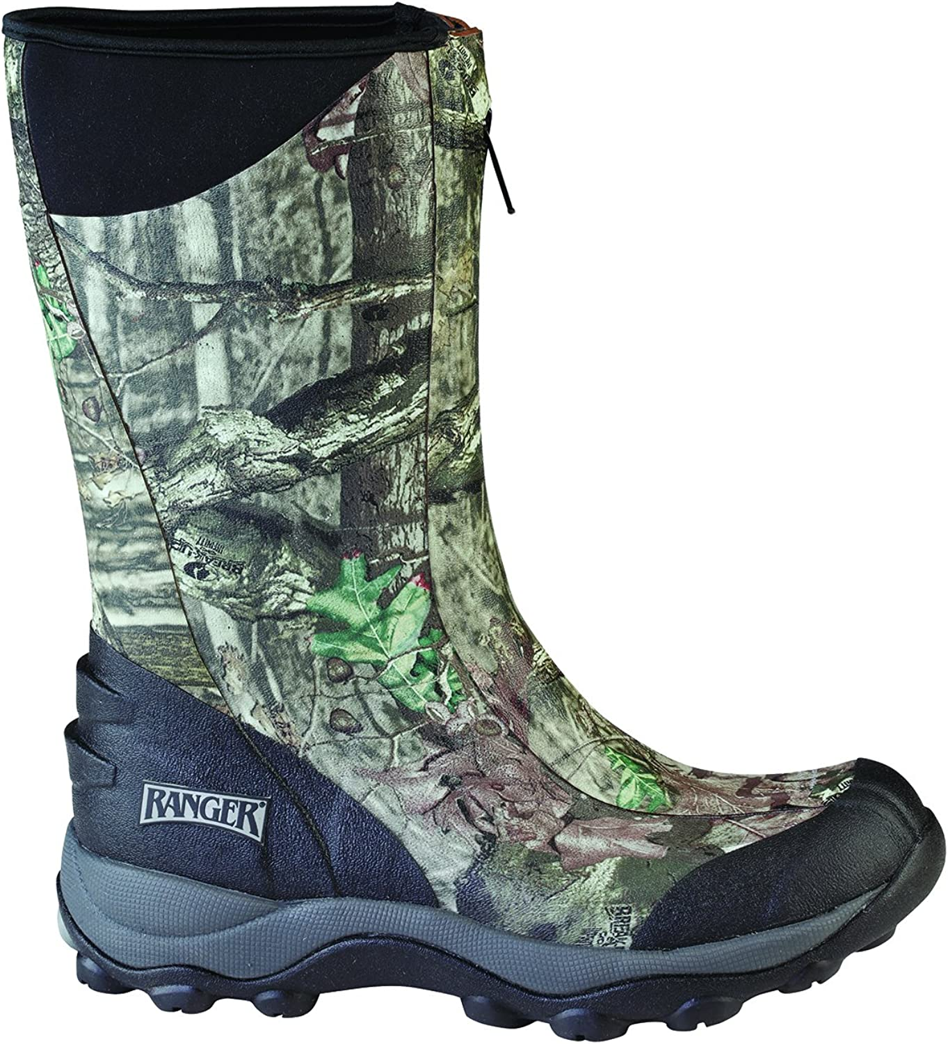 Ranger Pike Collection 13  Men's Rubber Boots with 2 mm Neoprene Bootie, Realtree AP (R21813N)