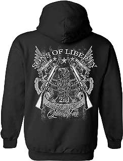 Unisex Zip Up Hoodie Sons of Liberty 2nd Amendment