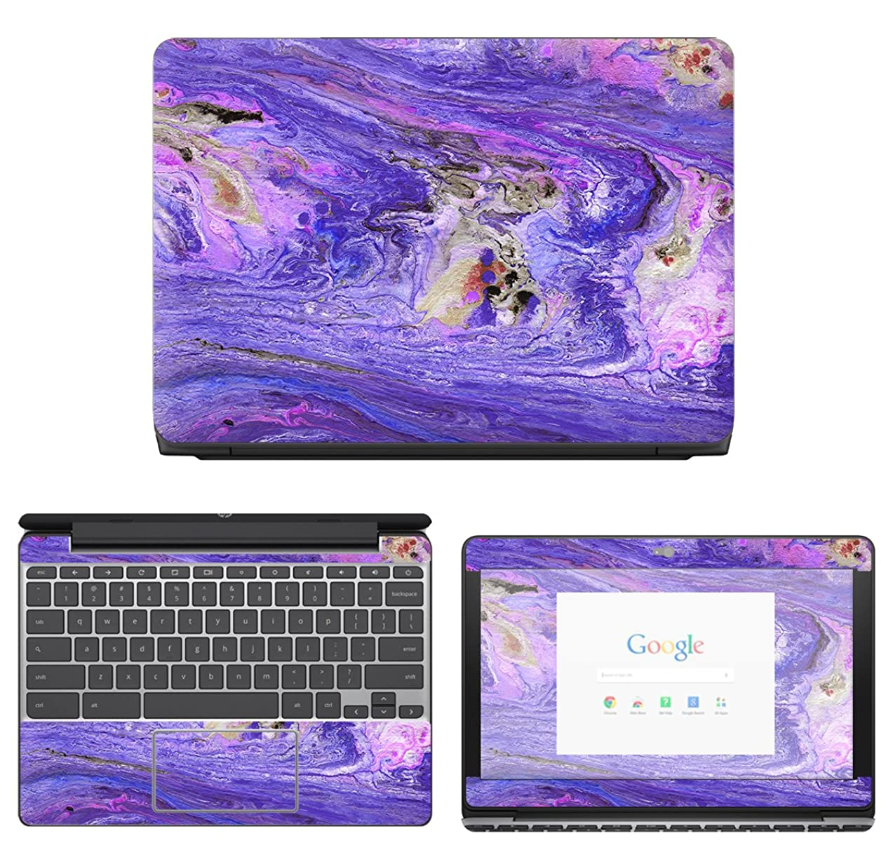 Decalrus - Protective Decal Skin Sticker for HP ChromeBook 11-v010nr (11.6