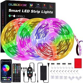 50 Feet Led Strip Lights , GUSODOR Smart Led