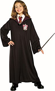 Harry Potter Gryffindor Costume Kit Kids Small Robe With Hermione Wand