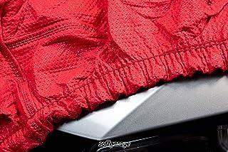 SOFTGARAGE 3 lagig rot Indoor atmungsaktiv wasserabweisend Car Cover Vollgarage Ganzgarage Autoplane Autoabdeckung 102020 4001037