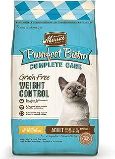 Merrick Purrfect Bistro Grain Free Dry Cat Food Healthy Weight Recipe