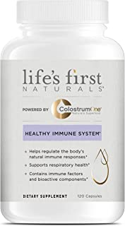 Life's First Naturals Healthy Immune System Support with ColostrumOne, Nutritional Supplement with Ethically Sourced Colos...