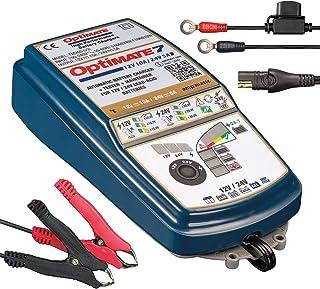 Optimate TM260v3 Tecmate optimate 7 12V/24V, tm-260, 8-stappen 12V 10a / 24V 5a gesloten accu besparende lader & druppellader