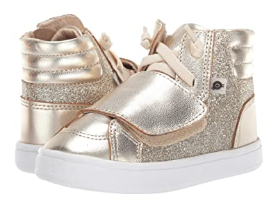 Old Soles O-Glam Shoe (Toddler/Little Kid) (Glam Gold/Gold) Girl