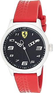 Ferrari Men'S Red Dial Nylon Band Watch - 830447,
