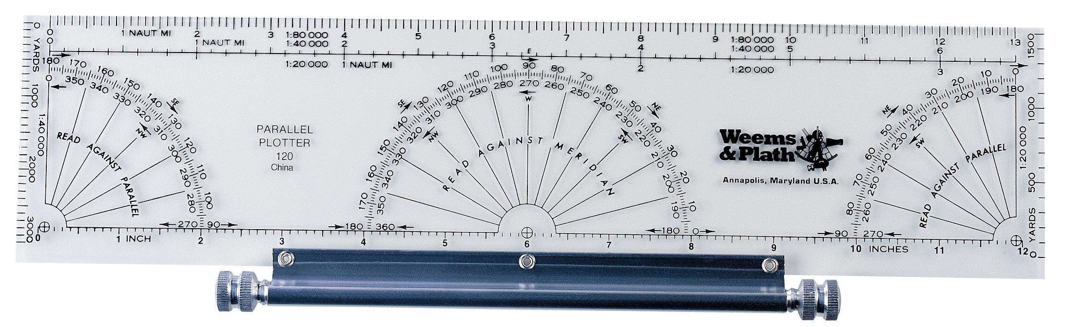 Weems & Plath Marine Navigation Parallel Plotter by Weems & Plath ...