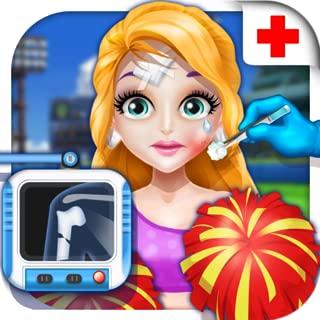 Cheerleader Injury Emergency - Surgeon Games