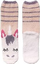 Women's Super Soft Warm Microfiber Fuzzy Cozy Unicorn Series Crew Socks