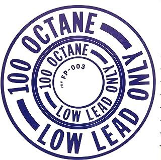 Decalque de combustível Wicks Aircraft 100 Octano, azul