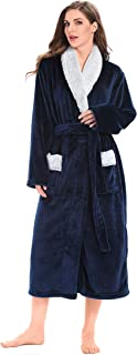 huge fluffy robe
