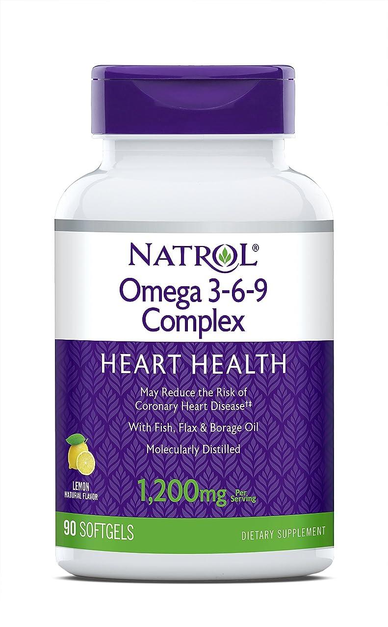 小さいイサカところで海外直送品 Natrol (incl Laci Le Beau Teas) Omega 3-6-9 Complex, 90 Softgels