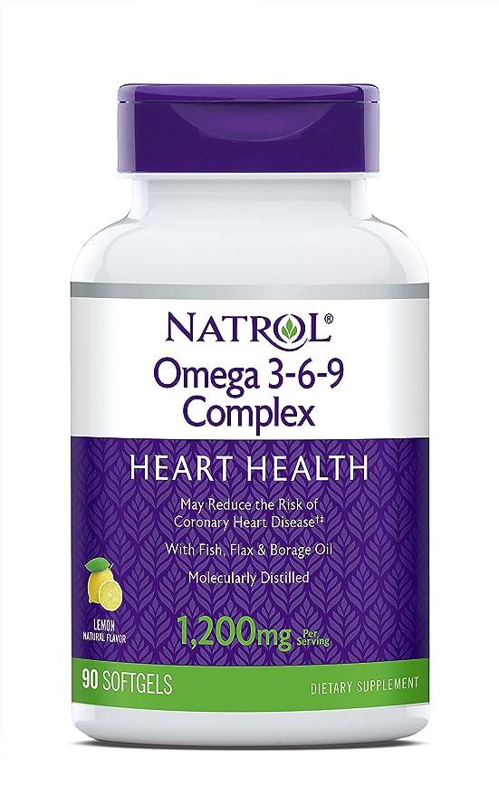 排泄物相続人床海外直送品 Natrol (incl Laci Le Beau Teas) Omega 3-6-9 Complex, 90 Softgels
